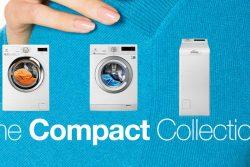 Compact Collection – pralki i suszarki do niewielkich pomieszczeń Electrolux